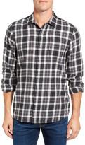 Travis Mathew Garner Slim Fit Plaid Sport Shirt