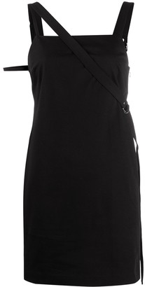 Helmut Lang Asymmetric Mini Dress