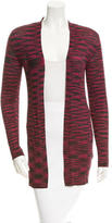 M Missoni Striped Knit Cardigan
