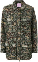 Palm Angels embroidered camouflage-print jacket