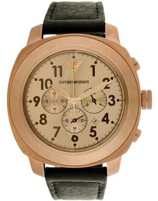 Emporio Armani Men's Emporio Sport Leather Watch AR6087