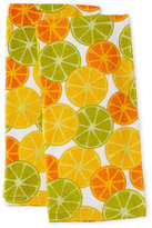 Imusa Two-Pack Citruses Kitchen Towels