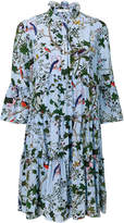 Erdem nature print dress