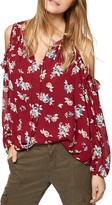 Sanctuary Blaire Floral Cold-Shoulder Top
