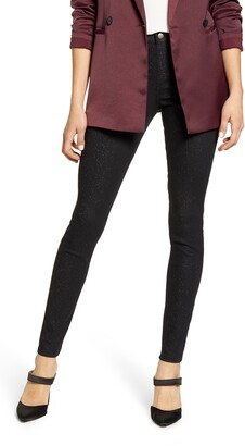 Hue Sparkle Denim Leggings