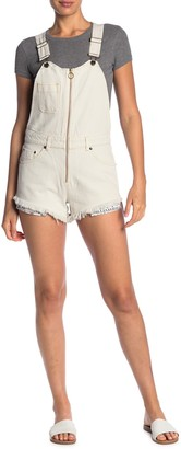 Free People Sunkissed Denim Short Overalls