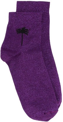 Palm Angels Palm Detail Socks