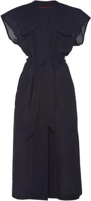 Martin Grant Safari Cotton Midi Dress