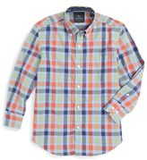 Tailorbyrd Plaid Woven Dress Shirt (Big Boys)