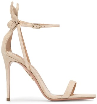 Aquazzura Deneuve bow-detail sandals