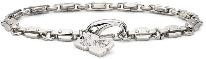 JCPenney FINE JEWELRY Men's Razor Link Bracelet Stainless Steel