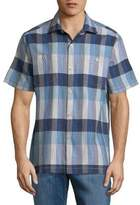 Tommy Bahama Tamuda Bay Plaid Button-Down Shirt