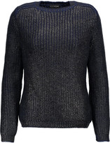 Tom Ford Coated ribbed wool sweater