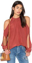 Ramy Brook Milan Cold Shoulder Top
