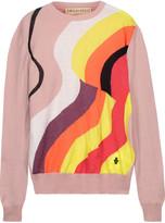 Emilio Pucci Metallic intarsia wool-blend sweater