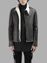 Rick Owens Leather Jackets