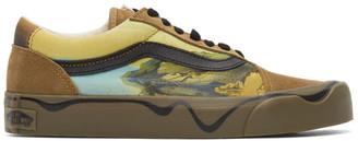 Vans Khaki MoMA Edition Twist Old Skool Sneakers