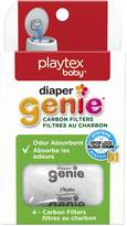 Playtex Diaper Genie Odour Absorbant Carbon Filters, Pack of 4 Filters (Works with all Diaper Genie Pails)