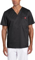 Dickies Men's Gen Flex Solid Stitch V-Neck