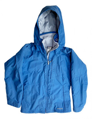 Patagonia Blue Synthetic Coats