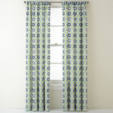 JCP HOME JCPenney HomeTM Camarillo Rod-Pocket/Back-Tab Curtain Panel