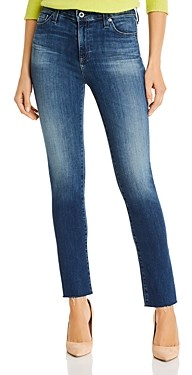 AG Jeans Mari High Rise Slim Straight Jeans in 12 Year Idiosyncratic