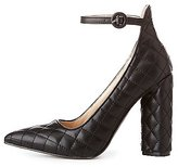 Charlotte Russe Quilted Pointed Top Pumps
