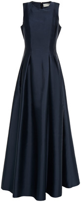 Sachin + Babi Pleated Faille Gown