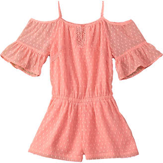 Ella Moss Cold-Shoulder Romper