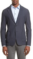 Armani Collezioni Men's Mesh Knit Jacket