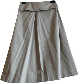 Cappellini Beige Cotton Skirt for Women