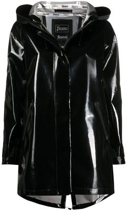 Herno Vinyl Hooded Jacket