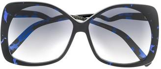 Emmanuelle Khanh Oversized Gradient Sunglasses