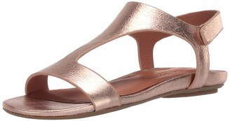 Gentle Souls by Kenneth Cole Women's Lark Slim T-Strap Sandal