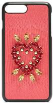 Dolce & Gabbana Iguana crystal-embellished iPhone® 7 Plus case