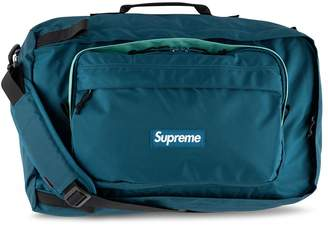 Supreme logo duffle bag