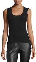 M Missoni Scoop-Neck Knit Tank, Black