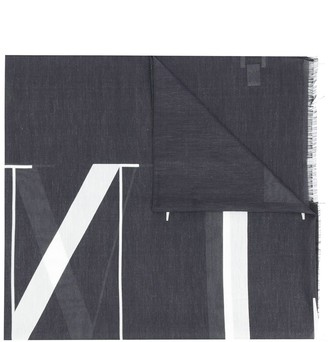 Valentino VLTN print scarf