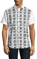 Robert Graham Play the Keys Printed Shirt