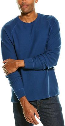 James Perse Thermal Raglan Crewneck Sweater