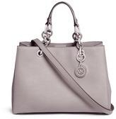Michael Kors 'Cynthia' medium saffiano leather satchel