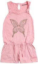 Zadig & Voltaire Butterfly Stud Cotton Jersey Romper