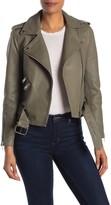 Helmut Lang Walter Baker Allison Leather Moto Jacket