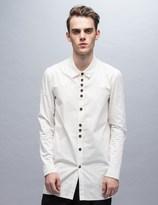 Damir Doma Saba Light Cotton Gabardine Washed Aspect Shirt