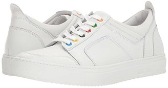 Del Toro Low Top Boxing Sneaker (White) Men's Lace up casual Shoes