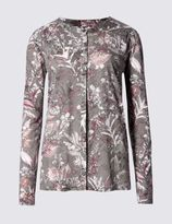 Marks and Spencer Enchanted Floral Print Blouse