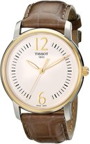 Tissot Women's T0522102603700 T-Trend Analog Display Swiss Quartz Beige Watch
