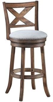 "Mackin Wooden Swivel Bar & Counter Stool Gracie Oaks Seat Height: Counter Stool (24"" Seat Height)"