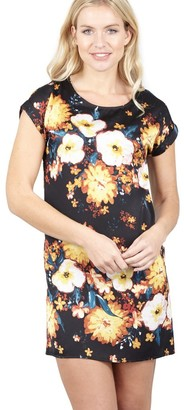 M&Co Izabel floral burst shift dress