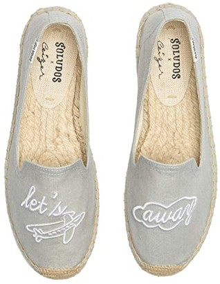 Soludos Let's Fly Away Smoking Slipper (Chambray) Women's Shoes